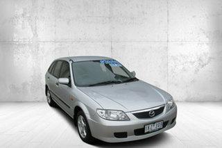 2001 Mazda 323 BJ II Astina Shades Silver 4 Speed Automatic Hatchback.