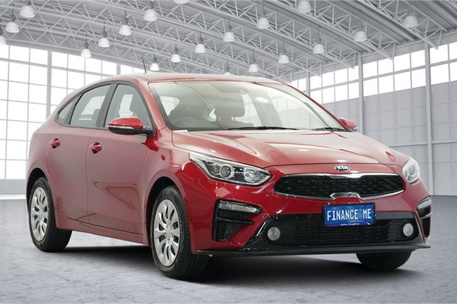 Used Kia Cerato BD MY20 S Victoria Park, 2020 Kia Cerato BD MY20 S Red 6 Speed Sports Automatic Hatchback
