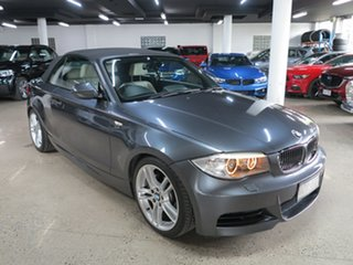 2013 BMW 1 Series E88 LCI MY1112 135i D-CT M Sport Grey 7 Speed Sports Automatic Dual Clutch.