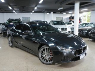 2014 Maserati Ghibli M157 MY14 S Black 8 Speed Sports Automatic Sedan.