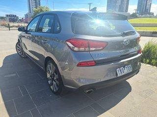 2018 Hyundai i30 PD2 MY18 SR D-CT Grey 7 Speed Sports Automatic Dual Clutch Hatchback.