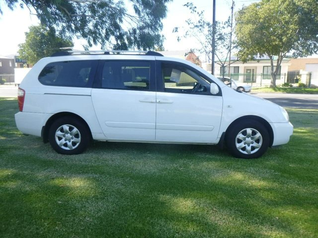 Used Kia Grand Carnival VQ EX Beverley, 2008 Kia Grand Carnival VQ EX White Sports Automatic Wagon