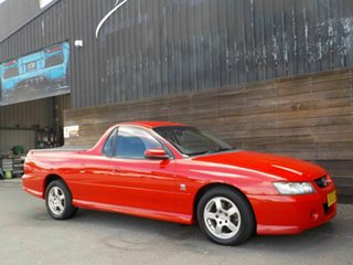 2004 Holden Ute VZ S Red 4 Speed Automatic Utility.