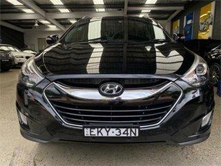 2014 Hyundai ix35 LM3 Highlander Black Sports Automatic Wagon.