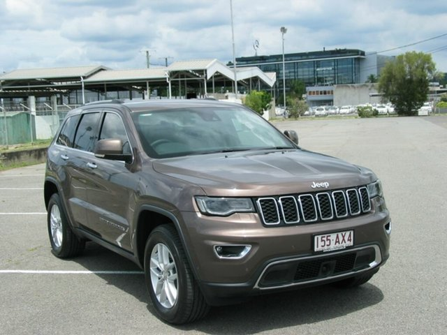Used Jeep Grand Cherokee WK MY18 Limited (4x4) Albion, 2017 Jeep Grand Cherokee WK MY18 Limited (4x4) Brown 8 Speed Automatic Wagon