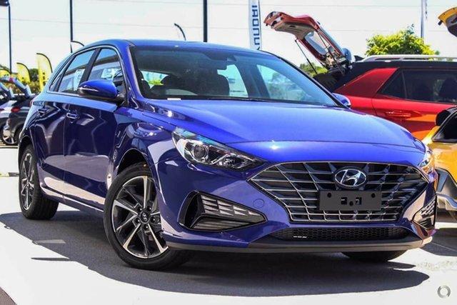 New Hyundai i30 PD.V4 MY21 Active Nailsworth, 2021 Hyundai i30 PD.V4 MY21 Active Intense Blue 6 Speed Sports Automatic Hatchback