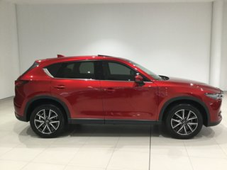 2017 Mazda CX-5 KF4WLA Akera SKYACTIV-Drive i-ACTIV AWD Solu Red Crystal/bla 6 Speed.