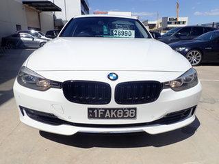 2012 BMW 328i F30 Luxury Line Alpine White 8 Speed Automatic Sedan.