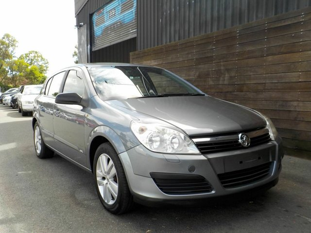 Used Holden Astra AH MY07.5 CDX Labrador, 2007 Holden Astra AH MY07.5 CDX Grey 4 Speed Automatic Hatchback