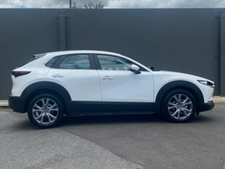 2020 Mazda CX-30 DM2W7A G20 SKYACTIV-Drive Evolve Snowflake White 6 Speed Sports Automatic Wagon.