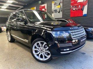 2013 Land Rover Range Rover L405 Vogue SE Black Sports Automatic Wagon.