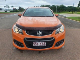2013 Holden Ute VF MY14 SV6 Ute Orange 6 Speed Sports Automatic Utility.