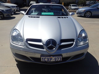 2007 Mercedes-Benz SLK280 R171 07 Upgrade Silver Lightning 7 Speed Automatic G-Tronic Convertible.