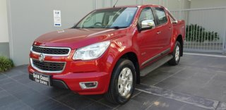 2012 Holden Colorado RG LTZ (4x4) Red 6 Speed Automatic Crew Cab Pickup.