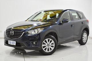 2016 Mazda CX-5 KE1072 Maxx SKYACTIV-Drive Sport Blue 6 Speed Sports Automatic Wagon.