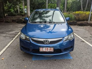 2010 Honda Civic 8th Gen MY10 VTi Blue 5 Speed Manual Sedan.
