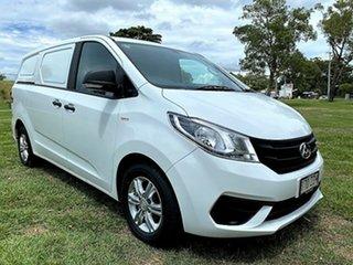2018 LDV G10 SV7C Blanc White 6 Speed Manual Van.