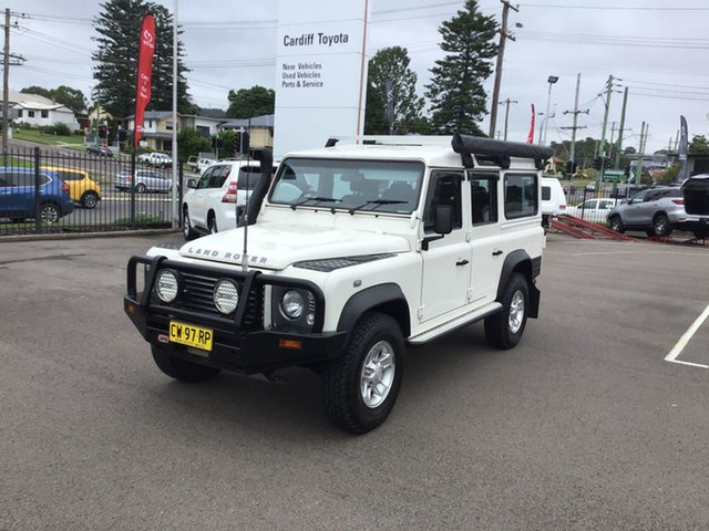 Pre-Owned Land Rover Defender 110 10MY Cardiff, 2010 Land Rover Defender 110 10MY White 6 Speed Manual Wagon