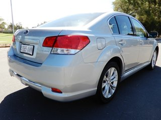 2012 Subaru Liberty B5 MY13 2.5X Lineartronic AWD Silver 6 Speed Constant Variable Sedan.