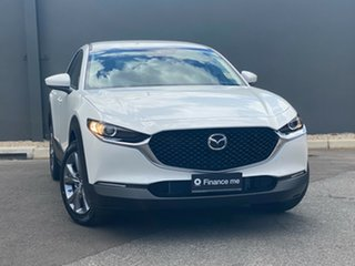 2020 Mazda CX-30 DM2W7A G20 SKYACTIV-Drive Evolve Snowflake White 6 Speed Sports Automatic Wagon