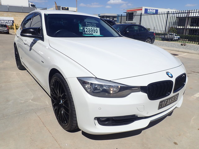 Used BMW 328i F30 Luxury Line Wangara, 2012 BMW 328i F30 Luxury Line Alpine White 8 Speed Automatic Sedan