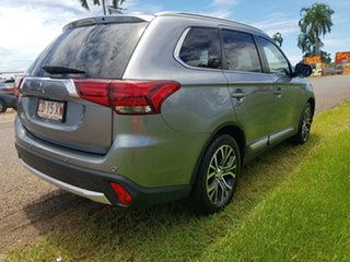 2018 Mitsubishi Outlander ZL MY18.5 LS 2WD Green 6 Speed Constant Variable Wagon