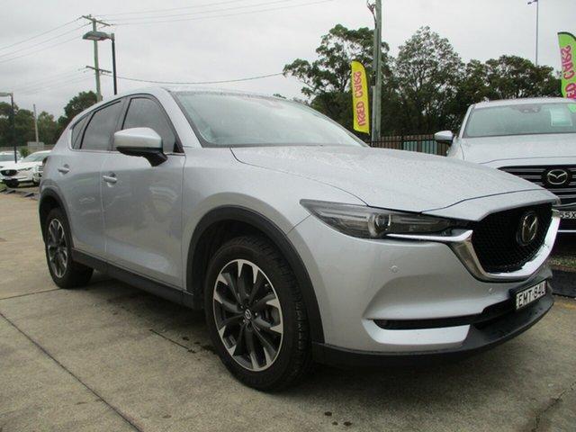 Used Mazda CX-5 KF4W2A Akera SKYACTIV-Drive i-ACTIV AWD Glendale, 2017 Mazda CX-5 KF4W2A Akera SKYACTIV-Drive i-ACTIV AWD Silver 6 Speed Sports Automatic Wagon