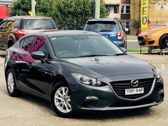 Used Mazda 3 BM5278 Maxx SKYACTIV-Drive Liverpool, 2014 Mazda 3 BM5278 Maxx SKYACTIV-Drive Grey 6 Speed Sports Automatic Sedan