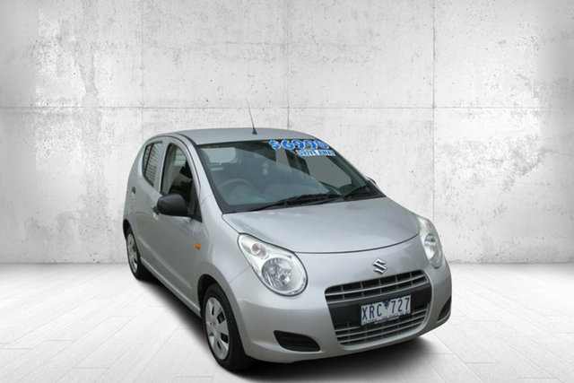 Used Suzuki Alto GF GL Bendigo, 2009 Suzuki Alto GF GL Silver 5 Speed Manual Hatchback