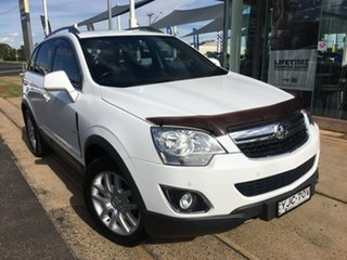 2012 Holden Captiva CG Series II 5 White Sports Automatic.