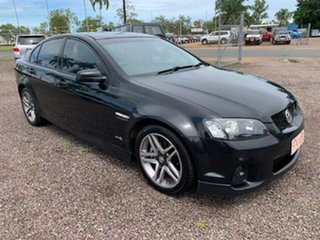 2010 Holden Commodore VE SV6 Black 4 Speed Auto Active Select Sedan.