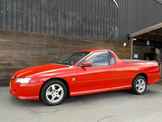2004 Holden Ute VZ S Red 4 Speed Automatic Utility