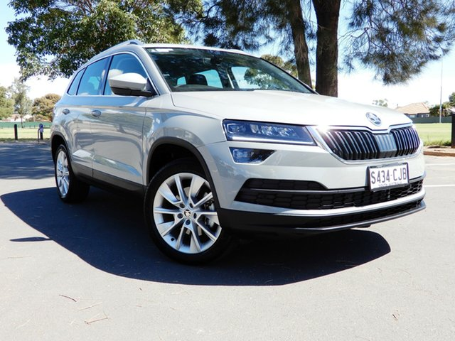 Used Skoda Karoq NU MY18 110TSI FWD Glenelg, 2018 Skoda Karoq NU MY18 110TSI FWD Steel Grey 6 Speed Manual Wagon