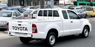 2015 Toyota Hilux GGN15R MY14 SR Xtra Cab 4x2 White 5 Speed Automatic Utility