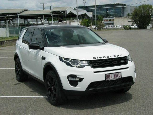 Used Land Rover Discovery Sport LC SE Albion, 2015 Land Rover Discovery Sport LC SE White 9 Speed Automatic Wagon