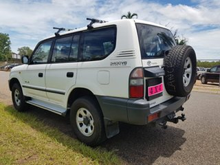 1999 Toyota Landcruiser Prado VZJ95R RV6 White 4 Speed Automatic Wagon