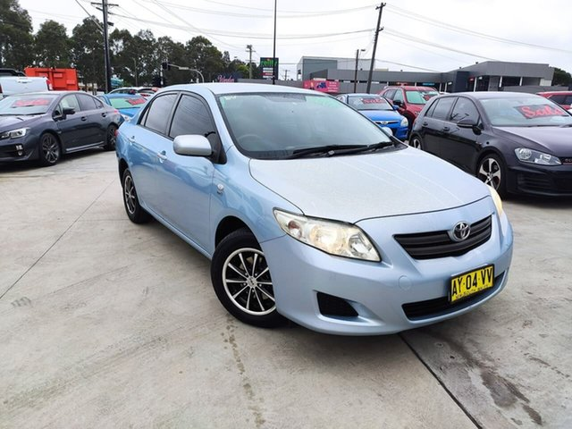 Used Toyota Corolla ZRE152R Ascent Liverpool, 2008 Toyota Corolla ZRE152R Ascent Blue 4 Speed Automatic Sedan