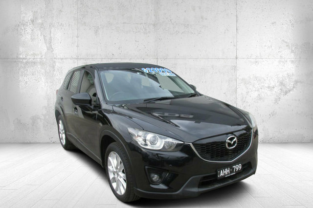 Used Mazda CX-5 KE1071 Grand Touring SKYACTIV-Drive AWD Bendigo, 2012 Mazda CX-5 KE1071 Grand Touring SKYACTIV-Drive AWD Black 6 Speed Sports Automatic Wagon
