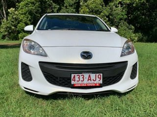 2013 Mazda 3 BL Series 2 MY13 Neo White 6 Speed Manual Sedan
