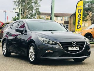 2014 Mazda 3 BM5278 Maxx SKYACTIV-Drive Grey 6 Speed Sports Automatic Sedan