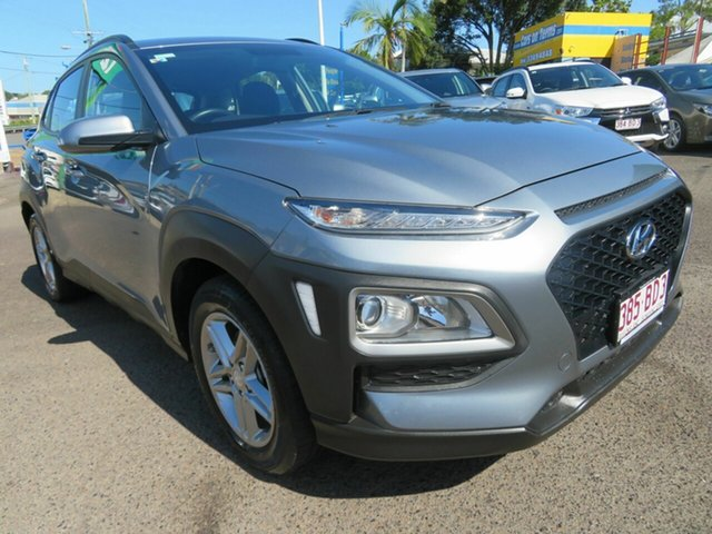 Used Hyundai Kona OS.2 MY19 Active 2WD Mount Gravatt, 2019 Hyundai Kona OS.2 MY19 Active 2WD Grey 6 Speed Sports Automatic Wagon