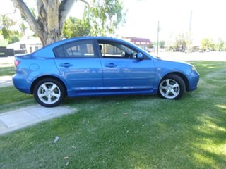 2006 Mazda 3 BK Series 1 Maxx Sport Blue Sports Automatic Sedan