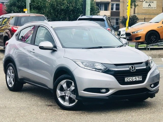 Used Honda HR-V MY15 VTi-S Liverpool, 2015 Honda HR-V MY15 VTi-S Silver, Chrome 1 Speed Constant Variable Hatchback