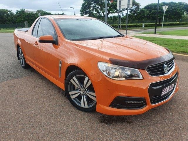 Used Holden Ute VF MY14 SV6 Ute Townsville, 2013 Holden Ute VF MY14 SV6 Ute Orange 6 Speed Sports Automatic Utility