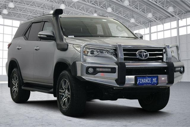 Used Toyota Fortuner GUN156R GXL Victoria Park, 2015 Toyota Fortuner GUN156R GXL Silver 6 Speed Automatic Wagon