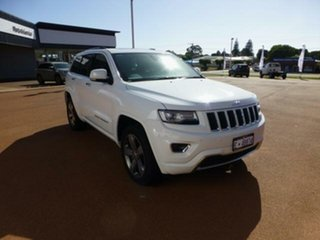 2015 Jeep Grand Cherokee WK MY15 Overland (4x4) 8 Speed Automatic Wagon.