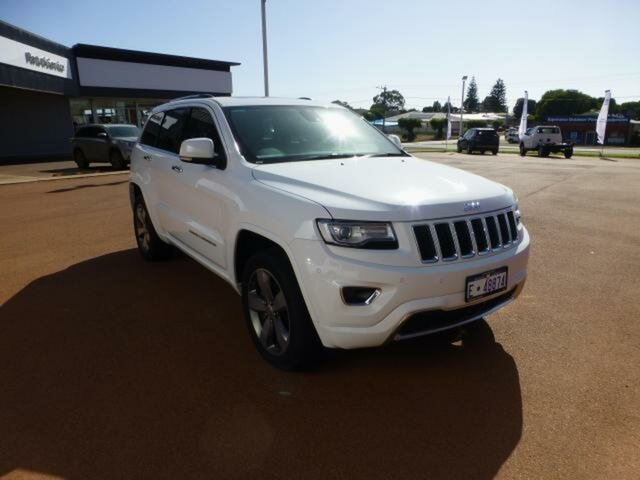 Used Jeep Grand Cherokee WK MY15 Overland (4x4) Esperance, 2015 Jeep Grand Cherokee WK MY15 Overland (4x4) 8 Speed Automatic Wagon