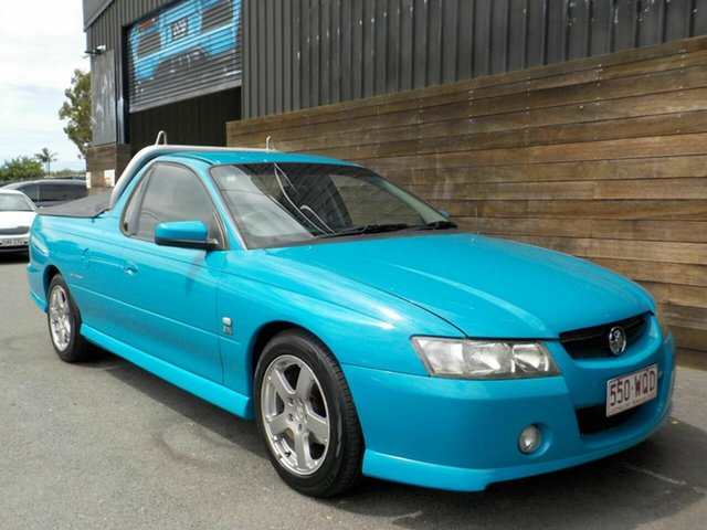 Used Holden Ute VZ Storm S Labrador, 2005 Holden Ute VZ Storm S Blue 4 Speed Automatic Utility