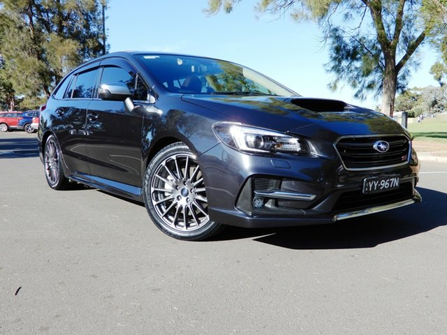 Used Subaru Levorg V1 MY18 2.0 STI Sport CVT AWD Glenelg, 2018 Subaru Levorg V1 MY18 2.0 STI Sport CVT AWD Dark Grey 8 Speed Constant Variable Wagon