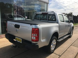 2018 Holden Colorado RG LT Silver Sports Automatic